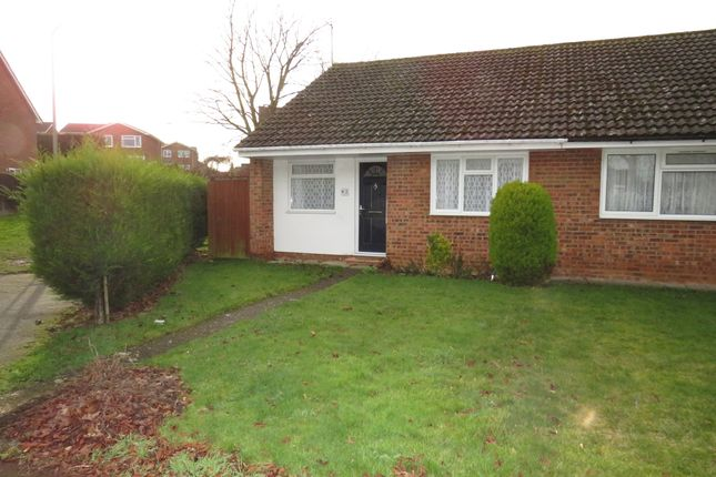 Thumbnail Semi-detached bungalow for sale in Carroll Close, Newport Pagnell