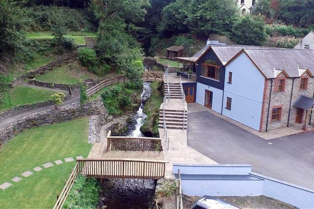 Thumbnail Detached house for sale in Aberarad, Newcastle Emlyn