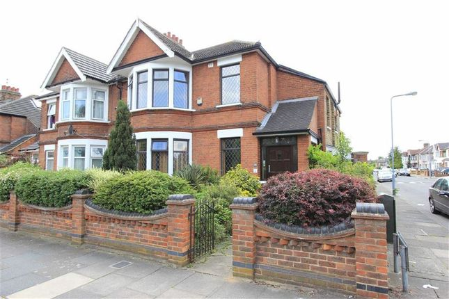 Thumbnail End terrace house for sale in Aberdour Road, Goodmayes, Essex