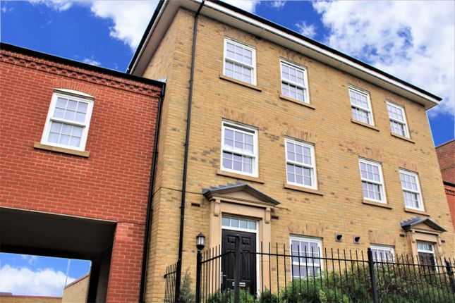 Thumbnail Terraced house to rent in Greenkeepers Rd, Great Denham, Bedford