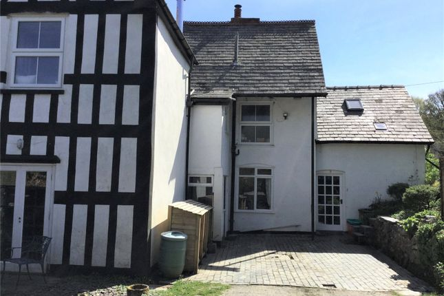 Thumbnail End terrace house for sale in Penrhallt Hall, Llanidloes, Powys