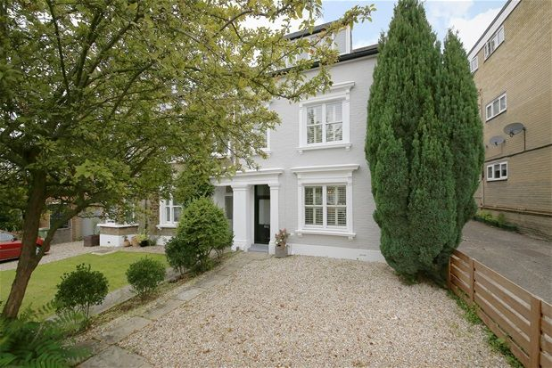 Thumbnail Semi-detached house for sale in Underhill Road, London