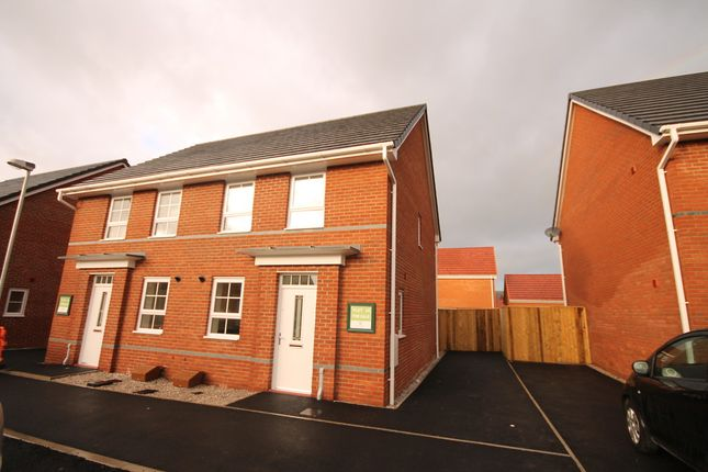 Thumbnail Semi-detached house to rent in Horseshoe Drive, Buckshaw Village, Chorley