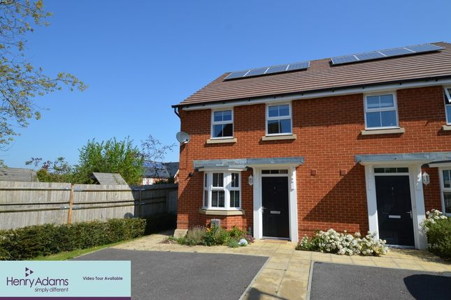 Thumbnail Semi-detached house to rent in Meadowcroft Close, Clanfield