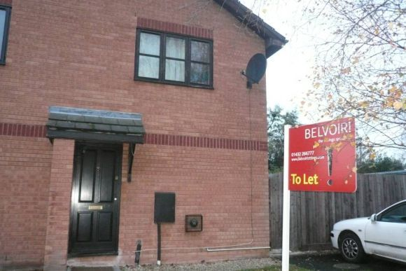 Thumbnail Terraced house to rent in The Pastures, Lower Bullingham, Hereford