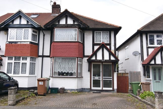 Thumbnail Semi-detached house for sale in The Causeway, Carshalton