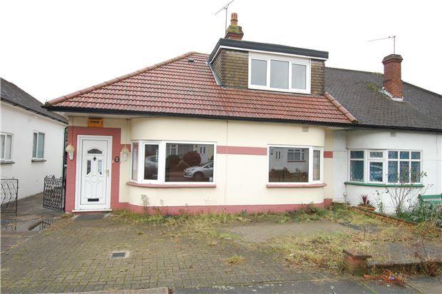 Thumbnail Semi-detached bungalow for sale in Parkfields Avenue, Kingsbury