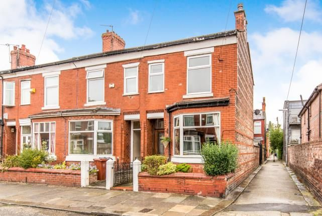 Thumbnail End terrace house for sale in Norbreck Avenue, Chorlton-Cum-Hardy, Manchester, Greater Manchester