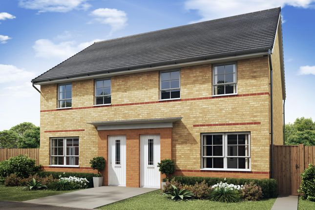 "Thumbnail Semi-detached house for sale in ""Maidstone"" at Woodcock Square, Mickleover, Derby"