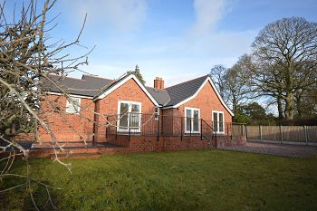 Thumbnail Detached bungalow for sale in Abbeyfields Lodge, Middlewich Road, Sandbach