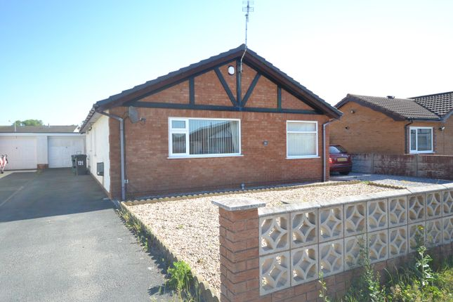 Thumbnail Detached bungalow for sale in Towyn Way West, Towyn