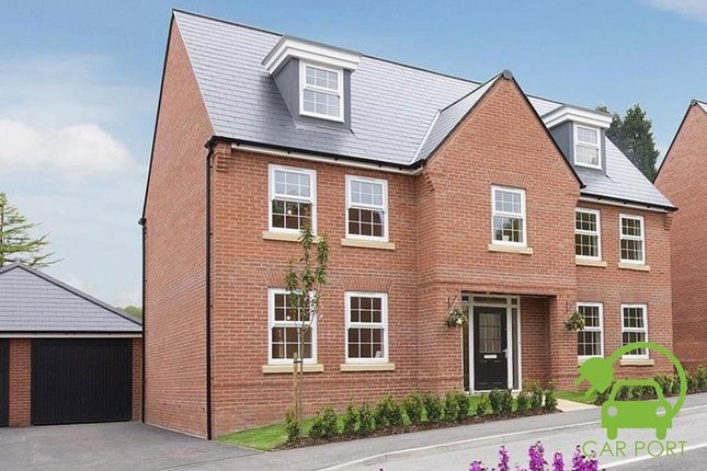 "Thumbnail Detached house for sale in ""Lichfield"" at Harbury Lane, Heathcote, Warwick"