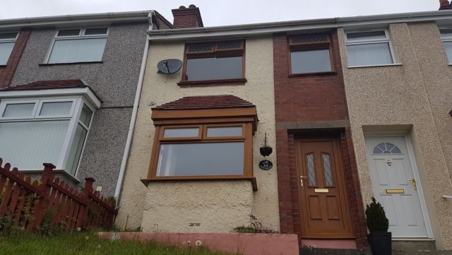 Thumbnail Terraced house to rent in Slate Street, Morriston
