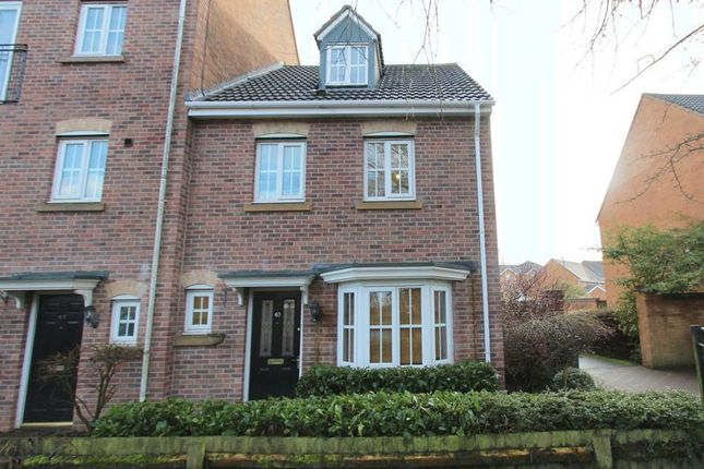 Thumbnail Town house to rent in Barrow Close, Walsall Wood, Walsall