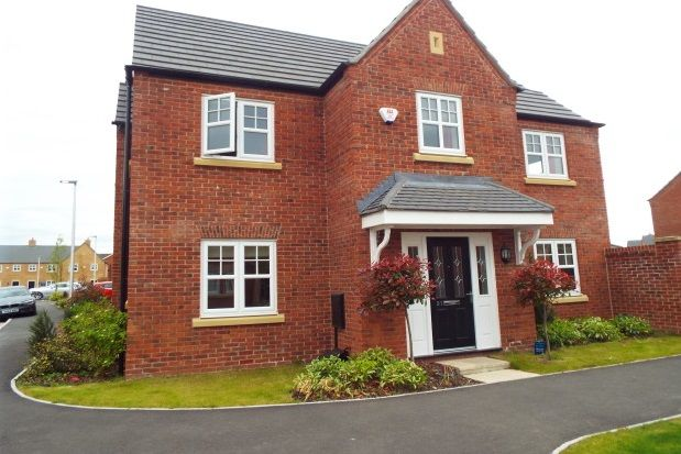 Thumbnail Detached house to rent in Commissioner Square, Warrington