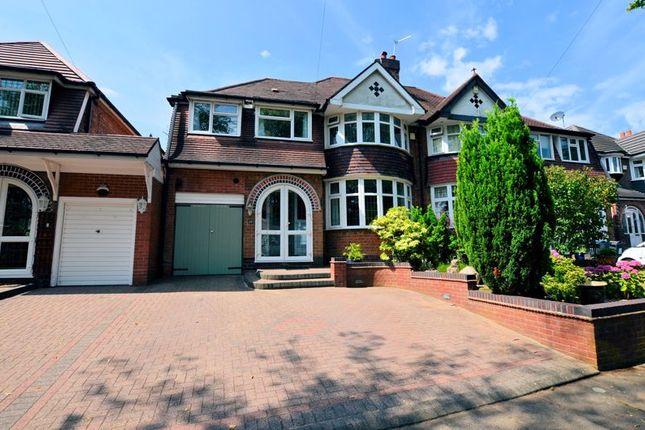 Thumbnail Semi-detached house for sale in Edenhall Road, Quinton, Birmingham