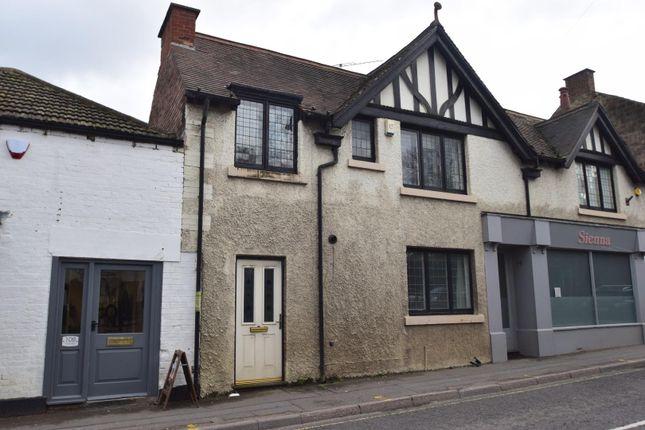 Thumbnail Cottage to rent in Crown Terrace, Bridge Street, Belper