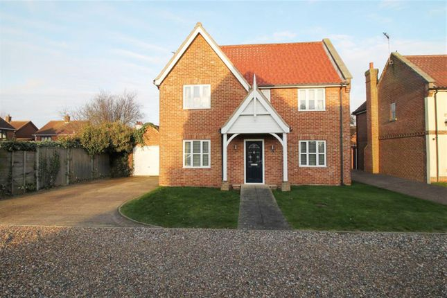 Thumbnail Detached house for sale in Prospect Close, Freethorpe, Norwich