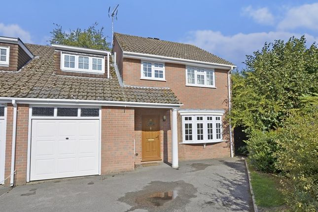 Thumbnail Semi-detached house to rent in Teasel Way, West Moors, Ferndown