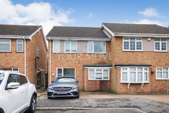 Thumbnail Semi-detached house to rent in Courage Close, Hornchurch