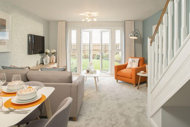 """Thumbnail Semi-detached house for sale in """"Richmond"""" at Marsh Lane, Leonard Stanley, Stonehouse"""