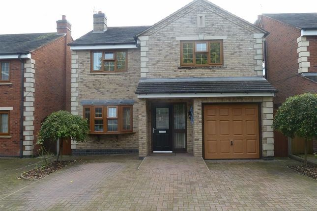 Thumbnail Detached house for sale in Heath Road, Bedworth