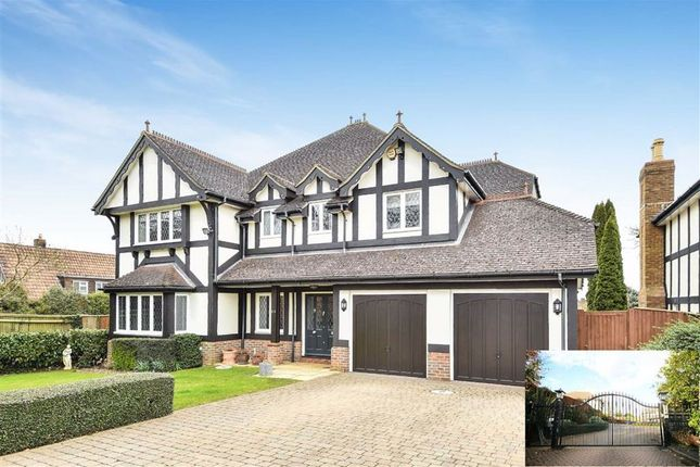 Thumbnail Detached house for sale in Beaumont Place, Hadley Highstone, Hertfordshire