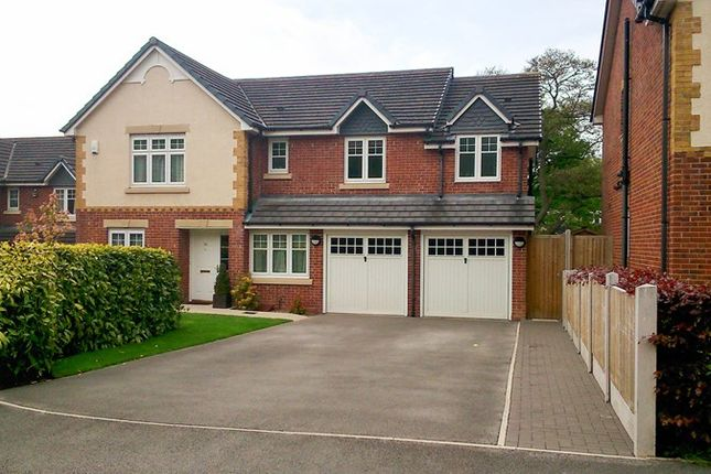 Thumbnail Detached house for sale in Ashenhurst Way, Leek, Staffordshire