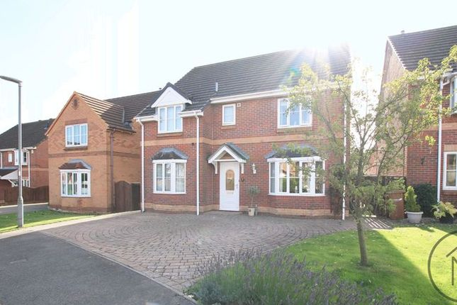 Thumbnail Detached house for sale in Paxton Close, Newton Aycliffe