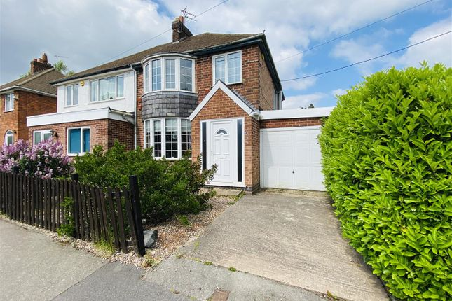 3 bed semi-detached house for sale in Leicester Road, Markfield, Leicestershire LE67