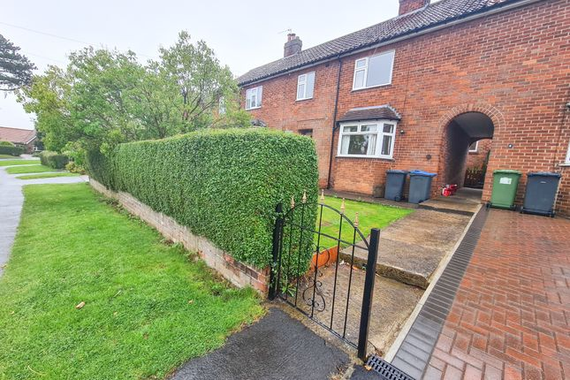 Thumbnail Terraced house to rent in Belbrough Close, Hutton Rudby