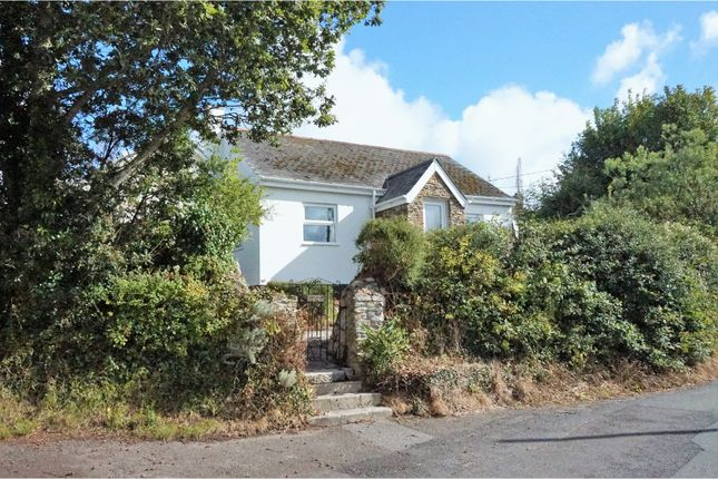 Thumbnail Detached bungalow for sale in Comfort Road, Mylor Bridge