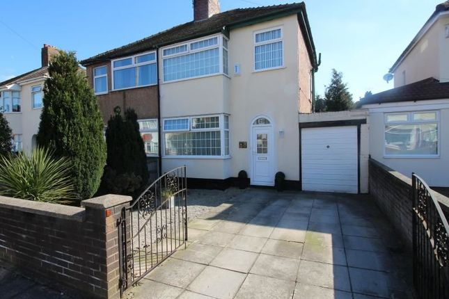 Thumbnail Semi-detached house for sale in Stavert Close, West Derby, Liverpool