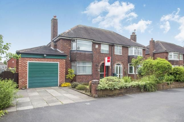 Thumbnail Semi-detached house for sale in Hollow Drive, Stockton Heath, Warrington, Cheshire