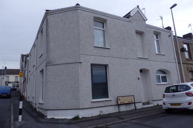 Thumbnail End terrace house for sale in Llewellyn Street, Llanelli