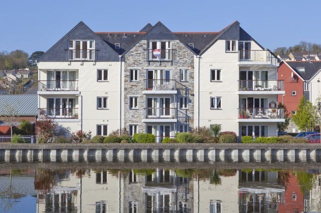 Thumbnail Flat for sale in Town Quay, Harbour Road, Wadebridge