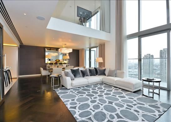 Thumbnail Flat to rent in The Heron, City, London