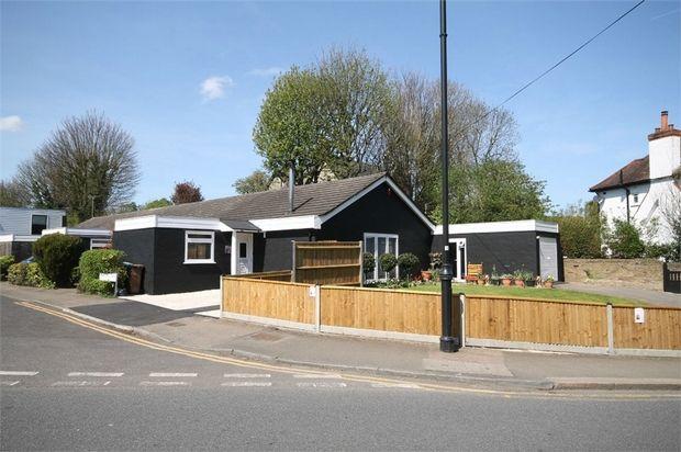 Thumbnail Semi-detached bungalow for sale in Bankside Close, Carshalton, Surrey