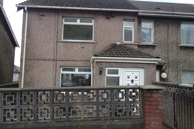 3 bed semi-detached house to rent in Pellau Road, Margam, Port Talbot SA13