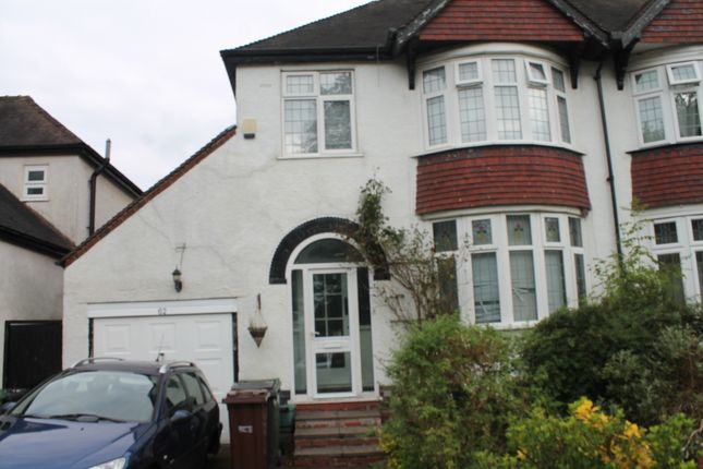 Thumbnail Semi-detached house to rent in Osbourne Road, Wolverhampton