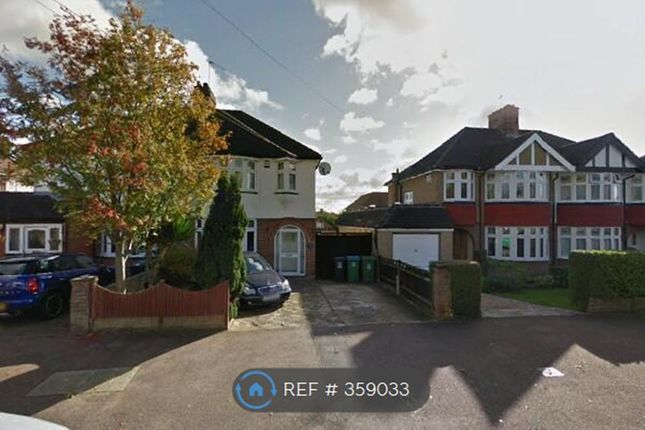 Thumbnail Semi-detached house to rent in Knutsford Avenue, Watford