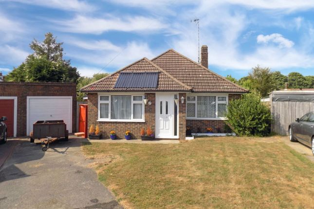 Thumbnail Detached bungalow for sale in Abbots Close, Hassocks