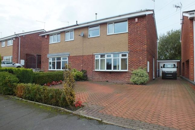 Semi-detached house for sale in Kemnay Avenue, Wedgwood Farm Estate, Fegg Hayes, Stoke On Trent