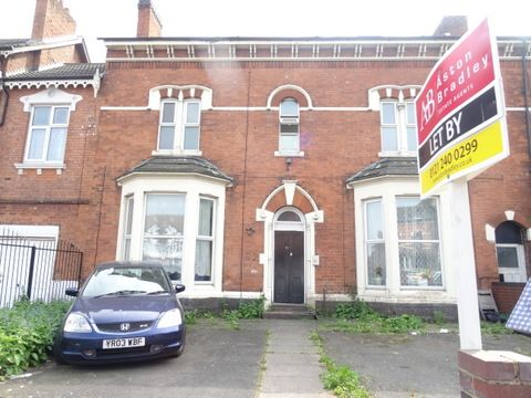 Thumbnail Flat to rent in Trinity Road, Aston