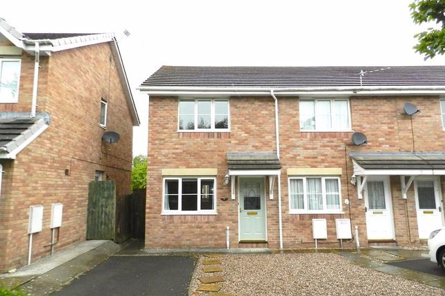 Thumbnail Terraced house to rent in Llys Eglwys, Bridgend