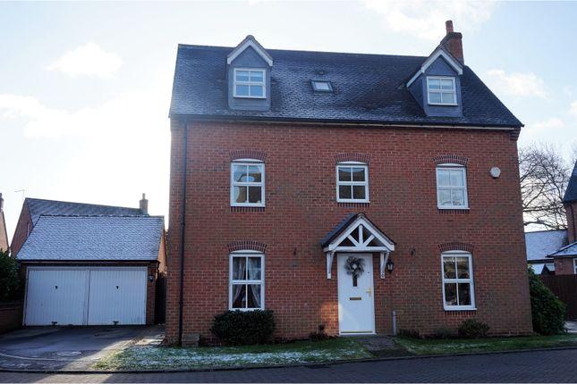 Thumbnail Detached house for sale in Orchid Close, Desborough