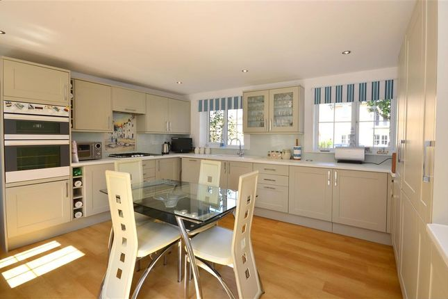 Thumbnail Detached house for sale in Campbell Road, Hawkinge, Folkestone, Kent