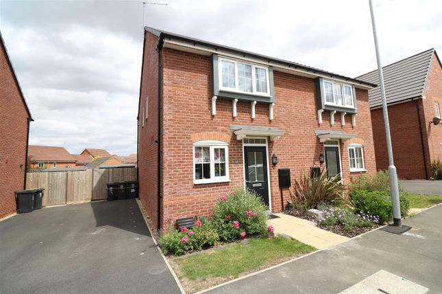 Thumbnail Semi-detached house for sale in Hart Way, Rushden