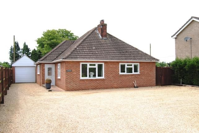 Thumbnail Bungalow for sale in West Winch, King's Lynn, Norfolk