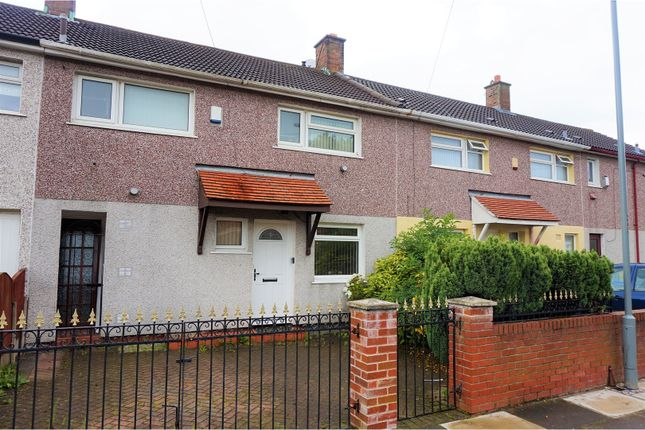 Thumbnail Terraced house for sale in Norbury Road, Liverpool